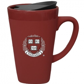 Harvard Seal Soft Touch 16 oz Ceramic Mug