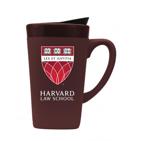Harvard Law School 16 oz Ceramic Mug With Lid