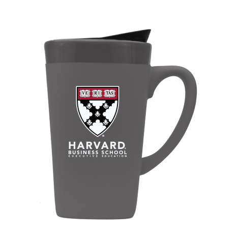 Harvard Business School Executive Education Matte Finish 16 oz Ceramic Mug