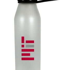 MIT White Glass Bottle with Soft Touch Finish