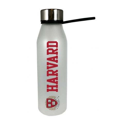 Harvard White Glass Bottle with Soft Touch Finish