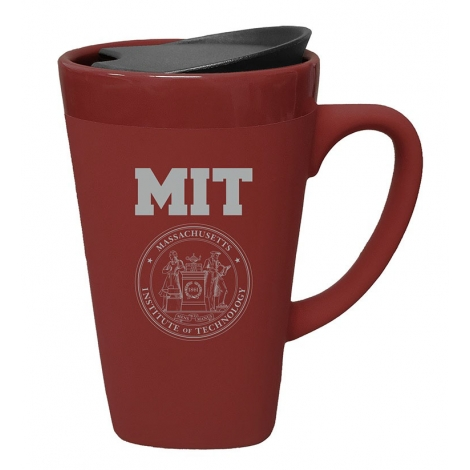 MIT Soft Touch Ceramic Mug