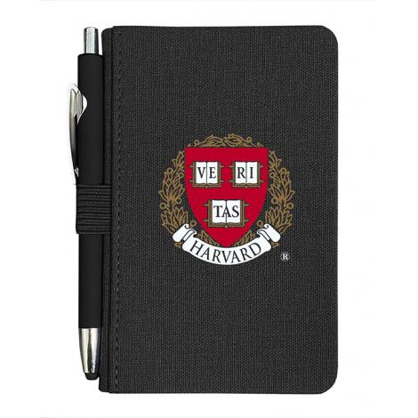 Harvard Pocket Journal With Pen
