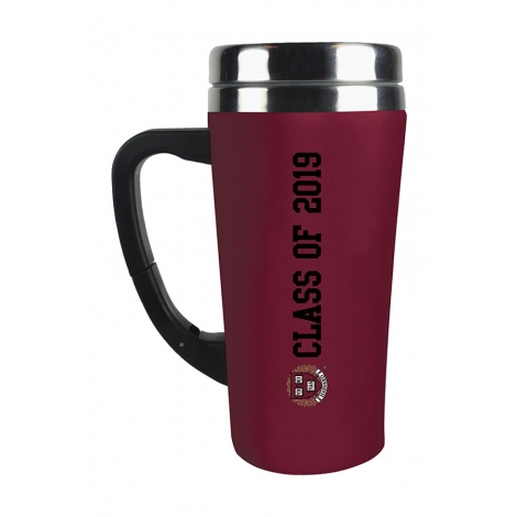 Harvard Class of 2019 Soft Touch Tumbler with Clip Handle