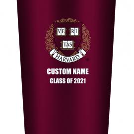 Personalized Class of 2021 Harvard Tumbler