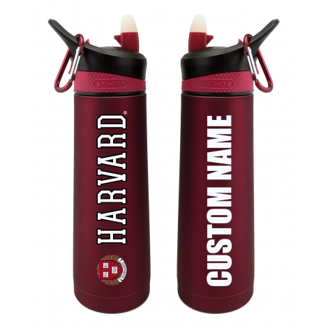 Personalized Harvard 24 oz. Stainless Steel Water Bottle