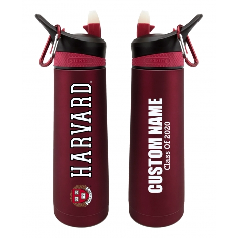 Personalized Class of 2020 Harvard 24 oz. Stainless Steel Water Bottle