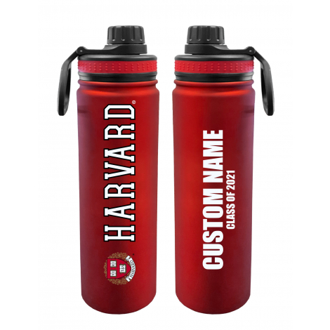 Personalized Class of 2021 Harvard 24 oz. Stainless Steel Water Bottle