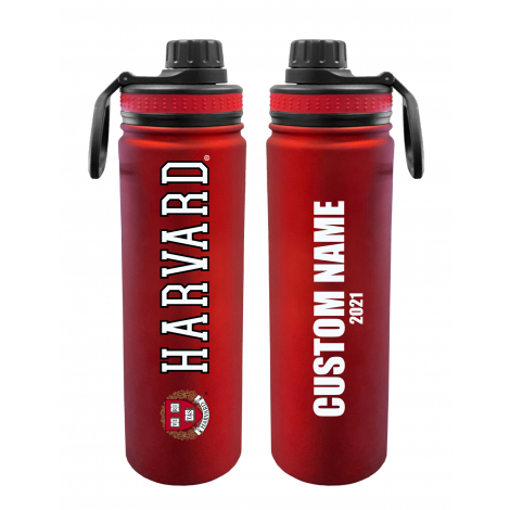 Personalized 2021 Harvard 24 oz. Stainless Steel Water Bottle