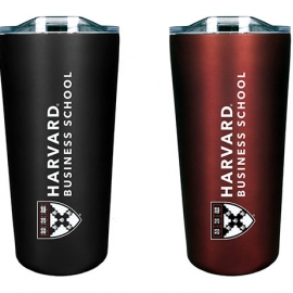 Harvard Business School Soft Touch Tumbler Gift Set