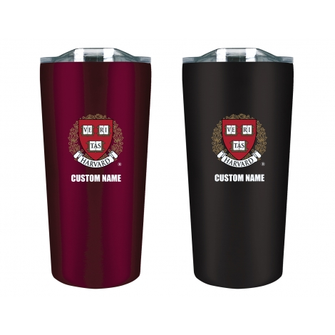 Personalized Harvard Tumbler Gift Set