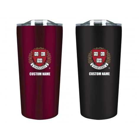 Personalized Harvard Tumbler Gift Set