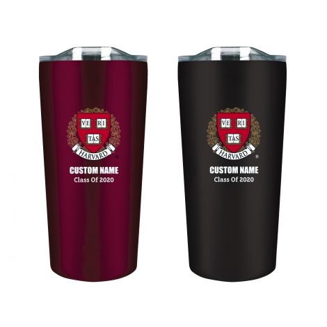 Personalized Class of 2020 Harvard Tumbler Gift Set