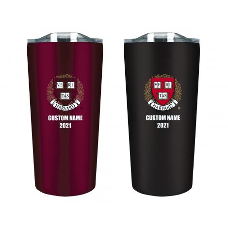 Personalized 2021 Harvard Tumbler Gift Set