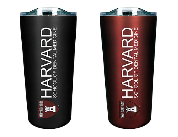 Harvard School of Dental Medicine Soft Touch Tumbler Gift Set