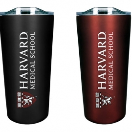 Harvard Medical School Soft Touch Tumbler Gift Set