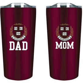 Harvard Mom and Dad Tumbler Gift Set