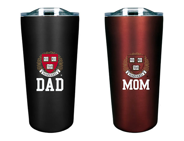 Harvard Mom and Dad Tumbler Gift Set