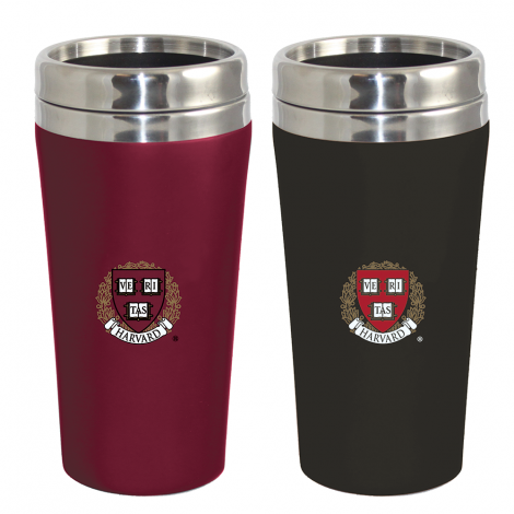 Harvard Soft Touch Tumbler Gift Set