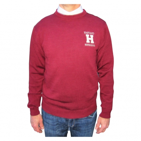 Harvard Business School Cotton Crewneck Sweater