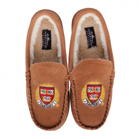 Harvard Men's and Women's Indoor/Outdoor Moccasin Slipper