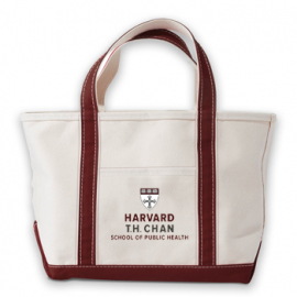 T.H. Chan School Of Public Health Kennebunkport Canvas Tote Bag