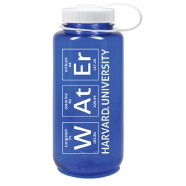 Harvard Periodic Table Nalgene 32 oz Water Bottle