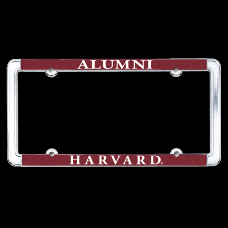 Harvard Alumni Maroon License Plate Frame