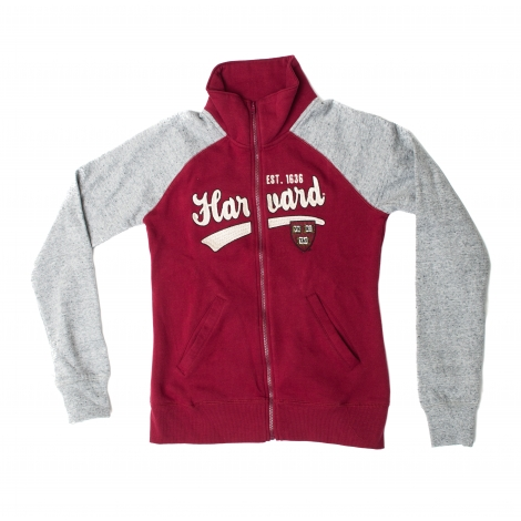 Women's Harvard Varsity Warm Up Jacket