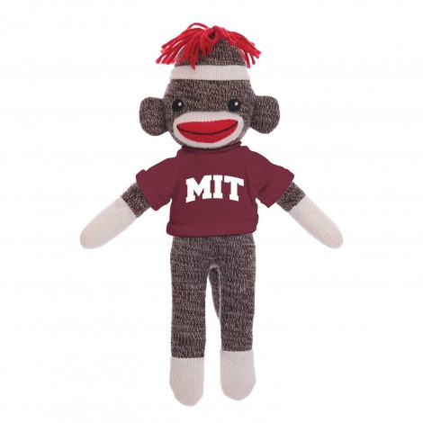 "MIT Sockiez 20"" Sock Monkey"