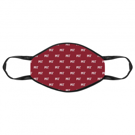 MIT Face Mask With All Over Contemporary Logo Print