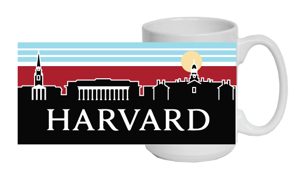 Harvard Skyline Mug by Uscape
