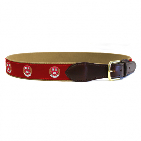 Harvard Canvas Ribbon Belt