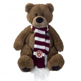 Harvard Bruno Bear with Scarf