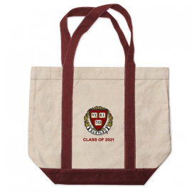 Harvard Class of 2021 Kennebunkport Canvas Tote Bag