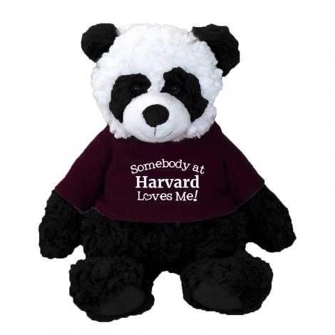 Harvard Panda with Tee Shirt