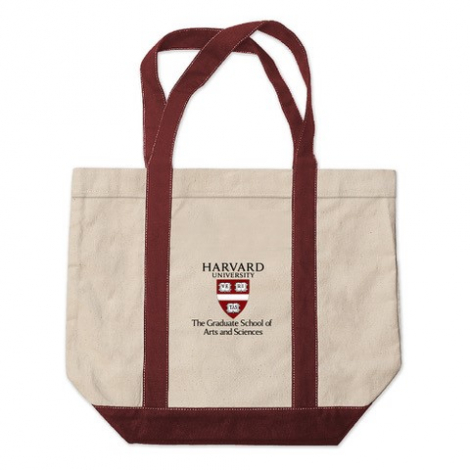 Harvard Graduate School of Arts and Sciences Kennebunkport Canvas Tote Bag