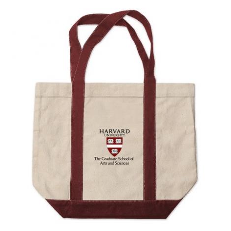 Harvard Graduate School of Arts and Sciences Kennebunkport Canvas Tote Bag
