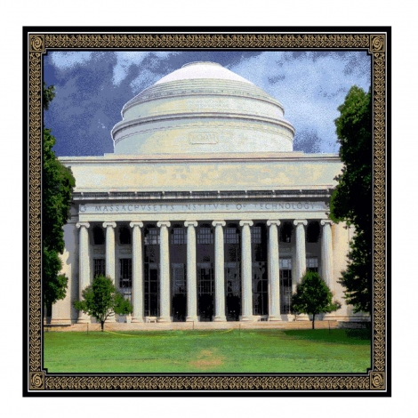 MIT Tapestry Throw
