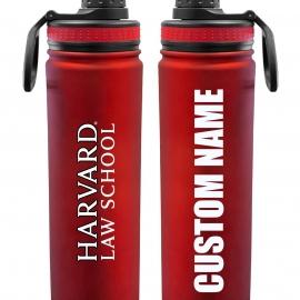 Personalized Harvard Law School 24 oz. Stainless Steel Water Bottle