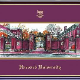 Prestige Harvard Yard Lithograph