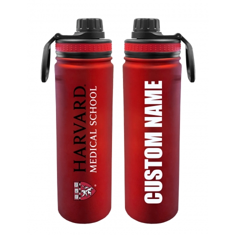 Personalized Harvard Medical School 24 oz. Stainless Steel Water Bottle