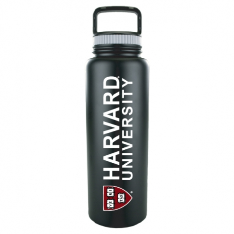Quench 40 oz Harvard Black Water Bottle