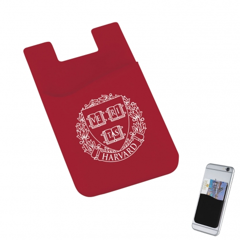 Harvard Silicone Card Wallet