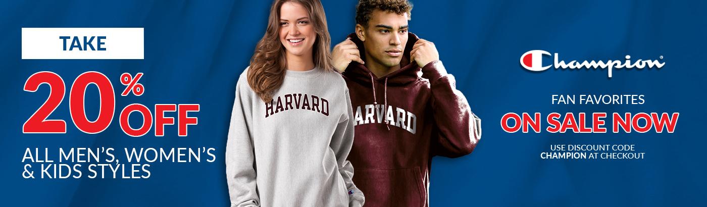 Harvard Sweatshirt Discount