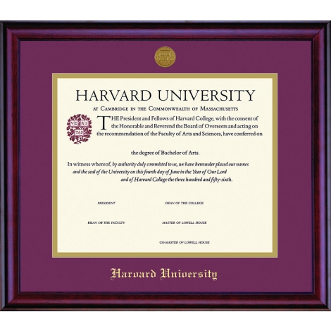 Harvard Gifts Accessories Accessories Diploma Photo Frames