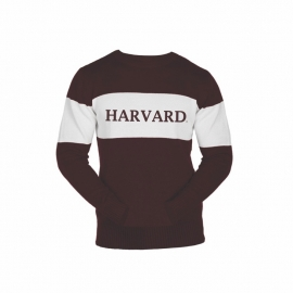 Harvard Bruzer Bar Down Crew Neck Sweater