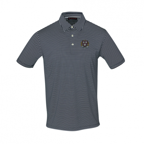 Harvard Men's Ecotec Carmel Stripe Polo