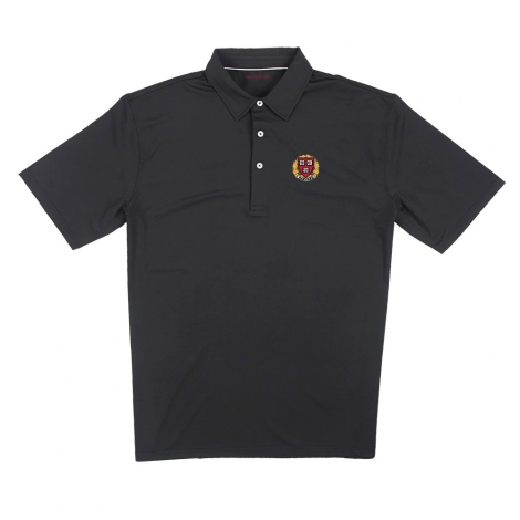 Harvard Men's Short Sleeve Ecotec Solid Polo
