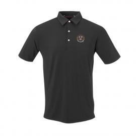 Harvard Men's Short Sleeve Ecotec Solid Polo